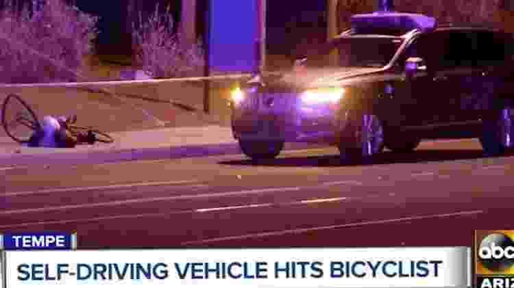 Mulher morre SUV autônomo do Uber - Reprodução/ABC - Reprodução/ABC