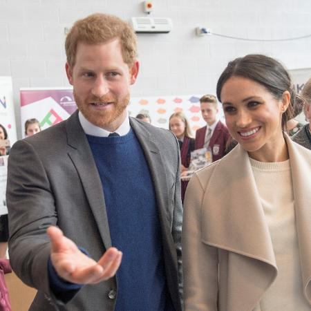 Príncipe Harry e Meghan Markle  - Darren Staples/Reuters