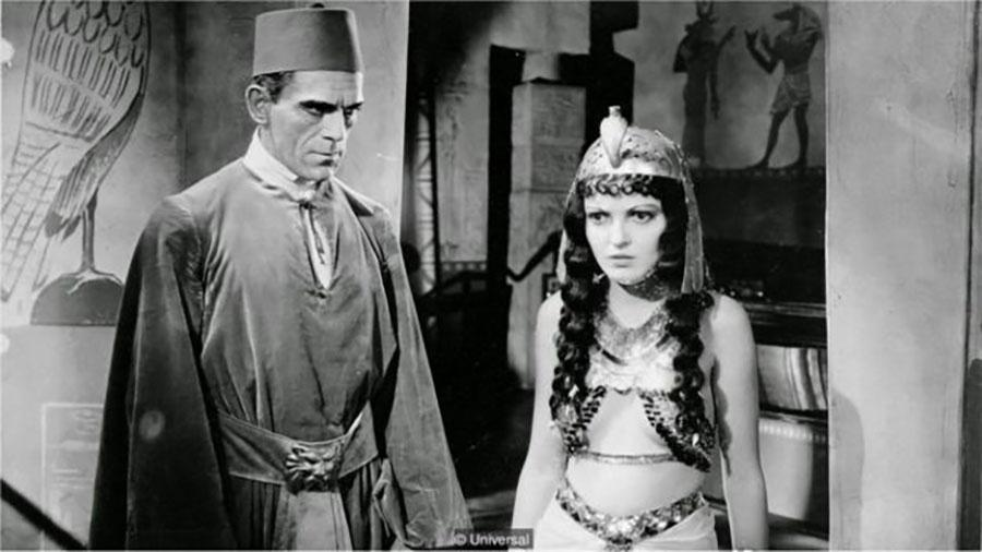 Ideia de múmia que busca vingança vem dos filmes, como A Múmia, de Karl Freund, estrelando Boris Karloff - Universal