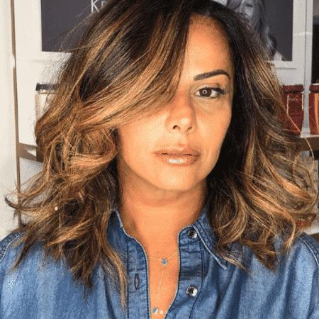 Viviane Araújo muda o visual - Reprodução/Instagram