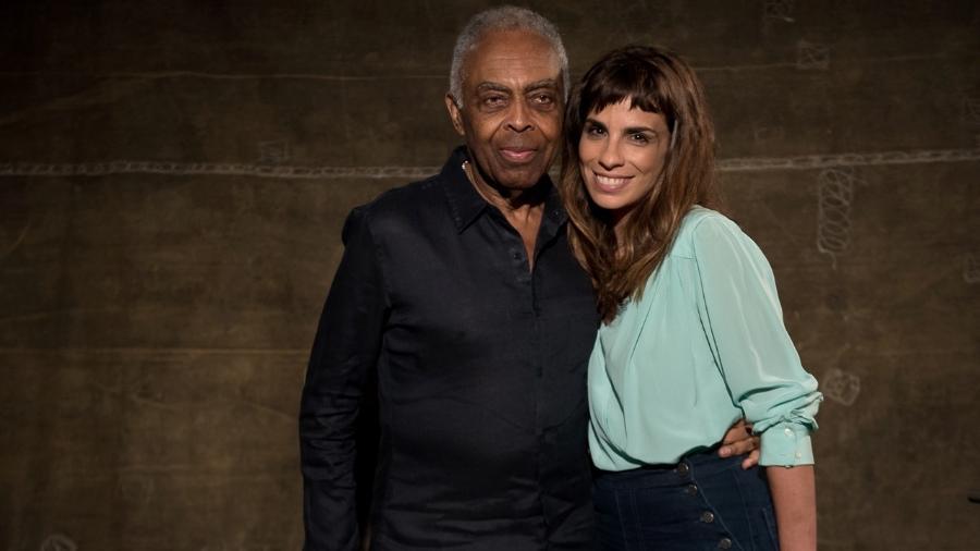 O cantor Gilberto Gil e a atriz Maria Ribeiro  - Ana Paula Amorim/Divulgação