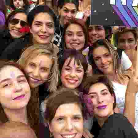 Famosas se reúnem em ato contra Bolsonaro - Reprodução/Instagram