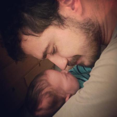 Pedro Vedova publica primeira foto da filha recém-nascida, Ana - Reprodução/Instagram/pvedova