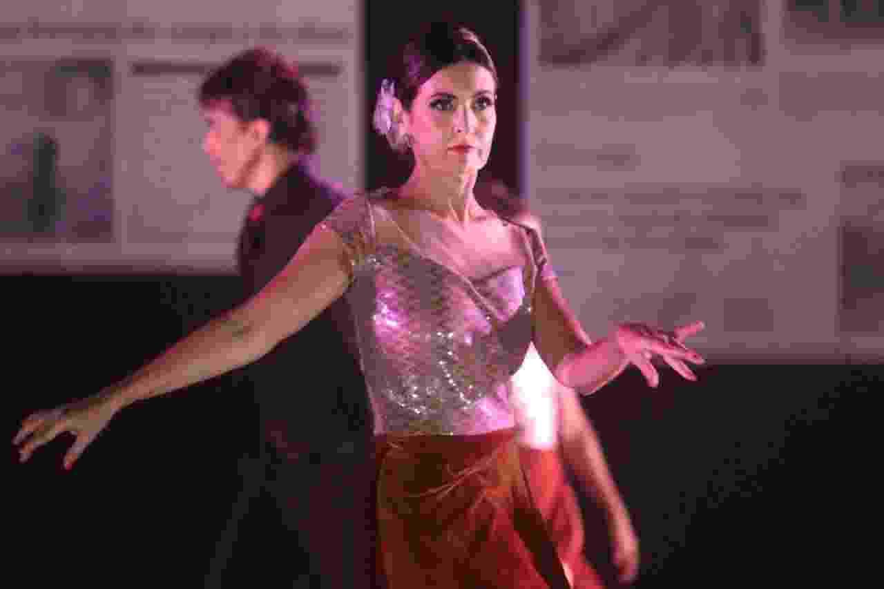 Fátima Bernardes se apresenta em espetáculo de dança com Bonner na plateia - Daniel Pinheiro e Wallace Barbosa/AgNews
