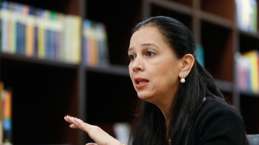 A ministra chefe da Advocacia Geral da União, Grace Mendonça - Folhapress