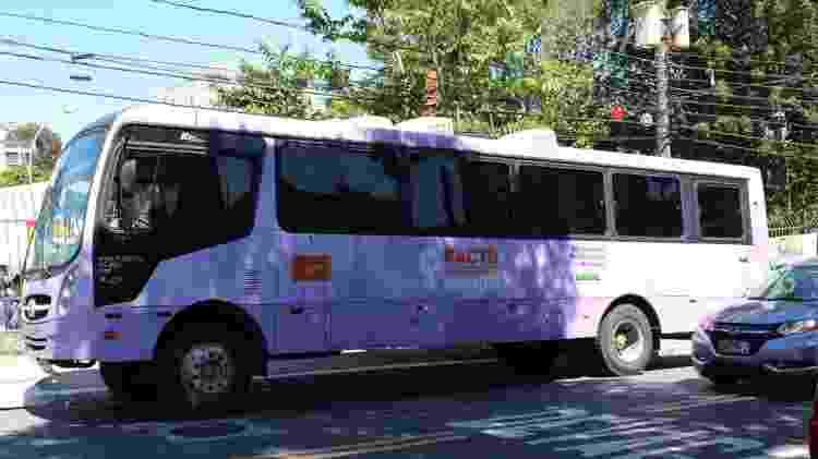Ônibus lilás estará estacionado na dispersão de megablocos para atender vítimas de assédio - Divulgação - Divulgação