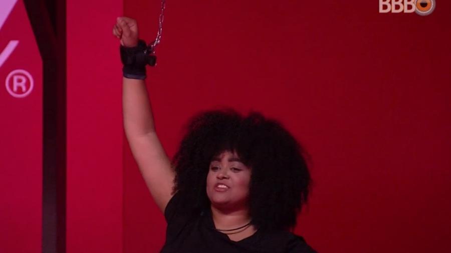 Rízia participa da sexta prova do líder do programa - Reprodução/GloboPlay
