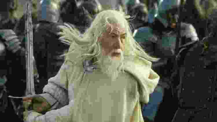 """Em """"O Senhor dos Anéis"""" as espadas também aparecem aos montes, como a Glamdring, de Gandalf - Alamy"""