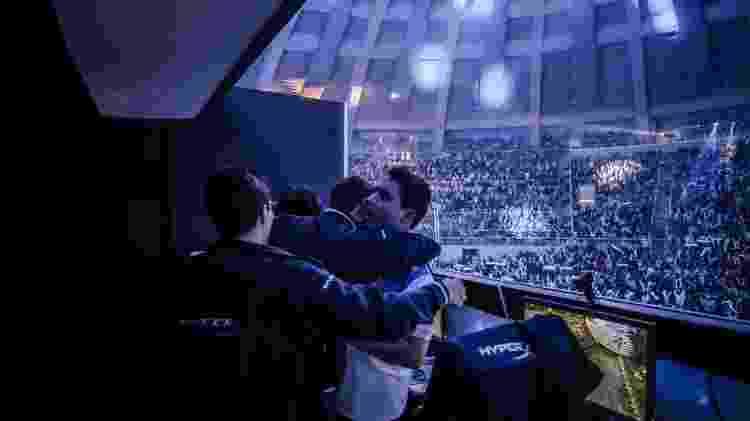 A CNB derrotou a paiN na semifinal do CBLoL 2014 para chegar à final no Ginásio do Maracanãzinho, contra a KaBuM. - Divulgação/Riot Games