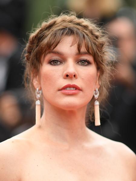 Milla Jovovich no festival de Cannes - AFP