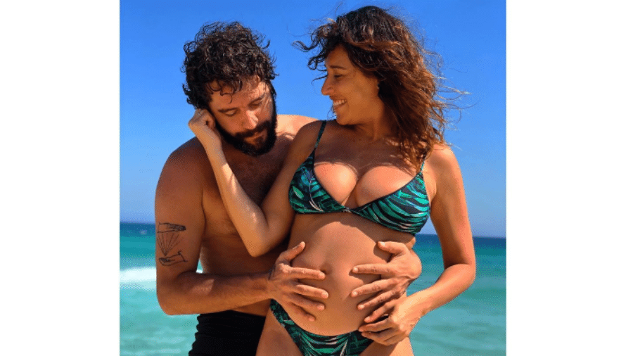 Guilherme Winter e Giselle Itié  - Reprodução/Instagram
