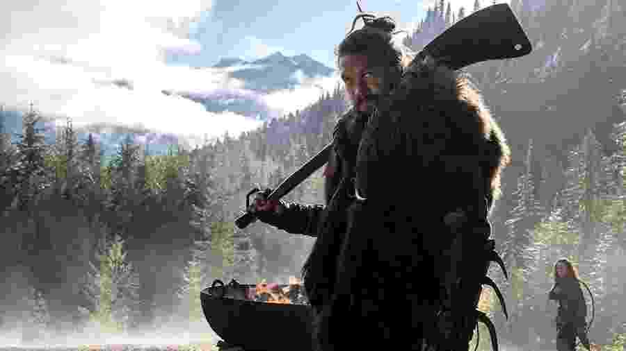Jason Momoa na série See, da Apple TV+ - Divulgação