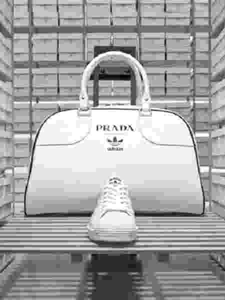 Parceria da Prada com Adidas gera novas versão do tênis Superstar e bolsa especial - Reprodução