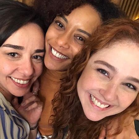 Clarissa Kiste, Tais Araújo e Debora Lamm - Reprodução/Instagram