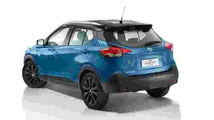 Teto preto e pintura azul Turquesa são alguns dos diferenciais da série especial do SUV - Divulgação