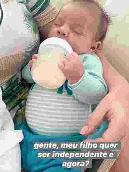 Léo, filho de Marília Mendonça - REPRODUÇÃO/INSTAGRAM
