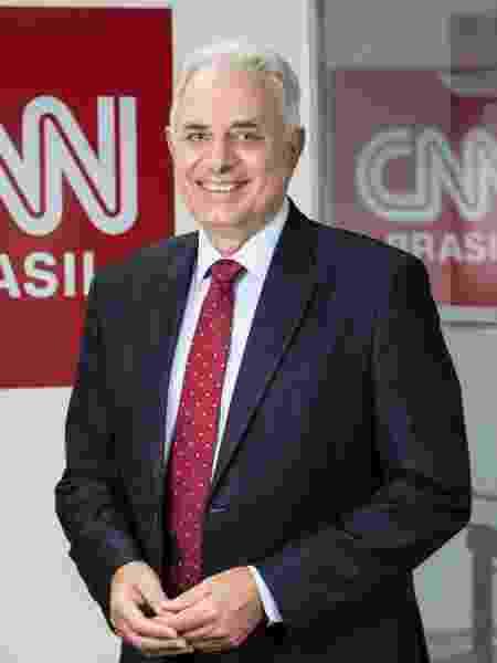 William Waack estará à frente do Jornal da CNN  - Divulgação