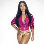 Simaria exibe corpão no look dourado e rosa para shows com Simone no Carnaval de Salvador - Reprodução/Instagram