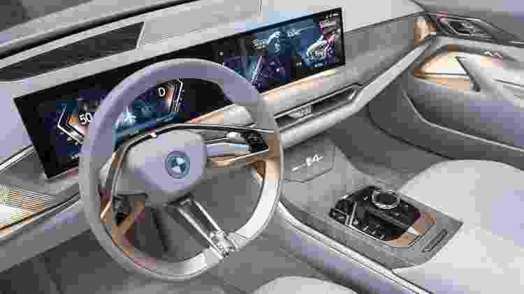 BMW Concept i4 3 - Divulgação - Divulgação
