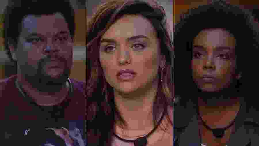 Babu, Rafa e Thelma estão no último paredão - Reprodução/TV Globo
