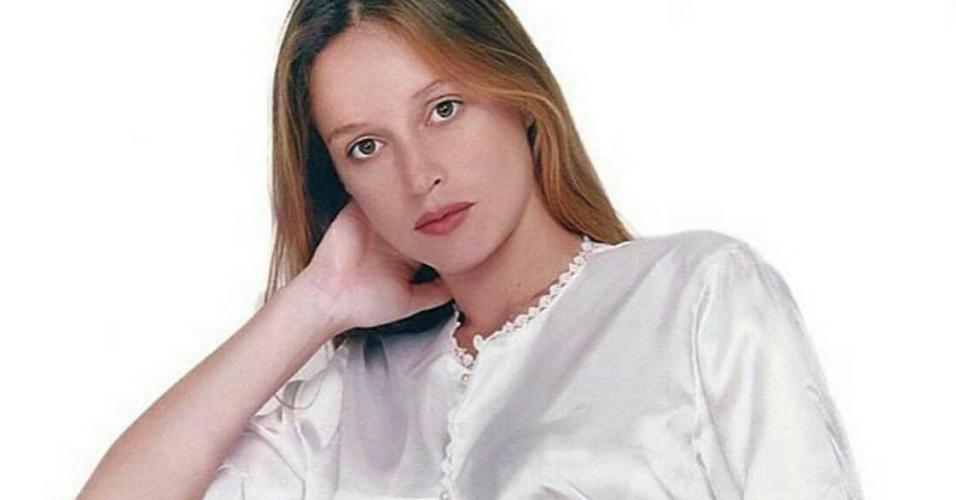 Gio, quando estava grávida de Marina Ruy Barbosa
