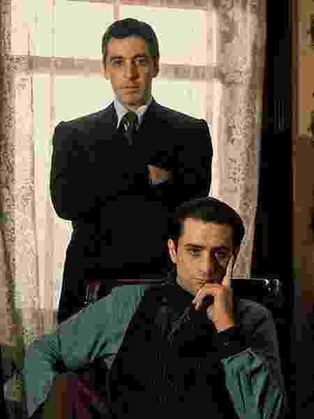 O Poderoso Chefão Part II Michael e Vito Corleone - Reprodução - Reprodução