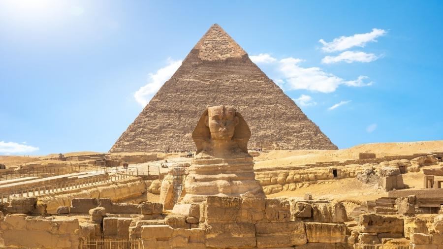 Nas Pirâmides de Gizé, perto das tumbas dos faraós, estão sepultados os responsáveis pela economia do Egito Antigo - iStockphotos/Getty Images