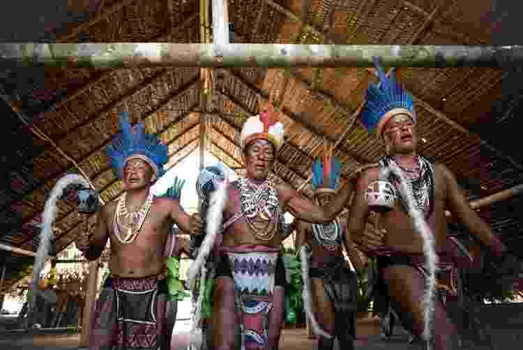 Celebração tradicional do povo Tuyuka, no Amazonas - Xavier Bartaburu - Xavier Bartaburu