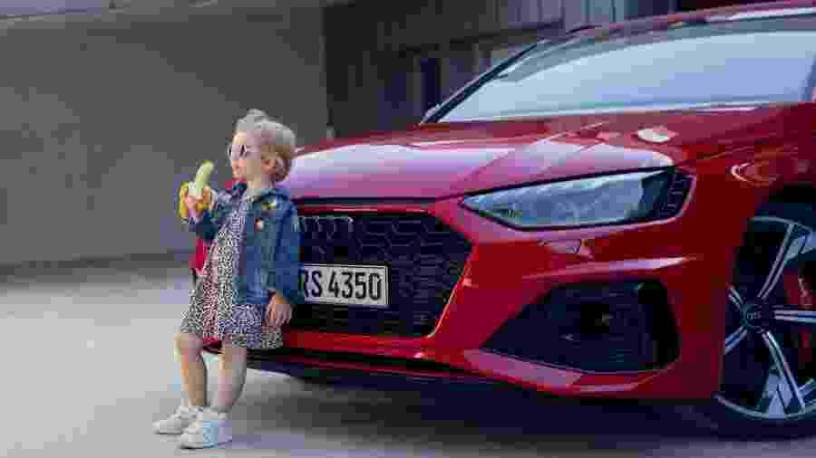 A Audi se desculpou ontem por propaganda que usou imagem de criança - Divulgação/Audi