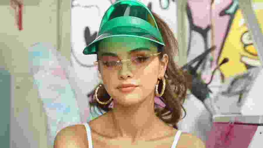 """Selena Gomez apareceu no clipe de """"Ice Cream"""" usando produtos da Rare Beauty - Reprodução/Instagram"""