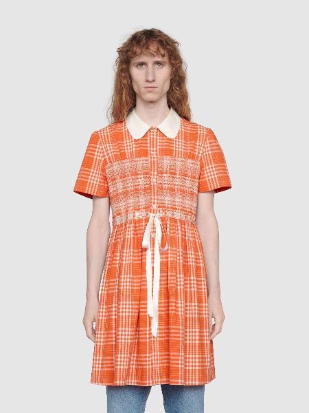 Vestido gucci homem - Reproduçao/Gucci