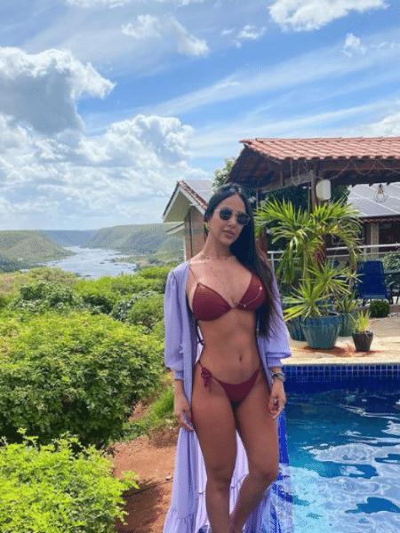 Liliane Amorim antes da lipoaspiração; influenciadora está na UTI desde o dia 17 - Reprodução/Instagram/@lilianeamorim_