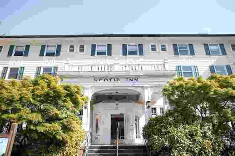 Fachada do hotel Scotia Lodge - Reprodução/Scotia Lodge - Reprodução/Scotia Lodge