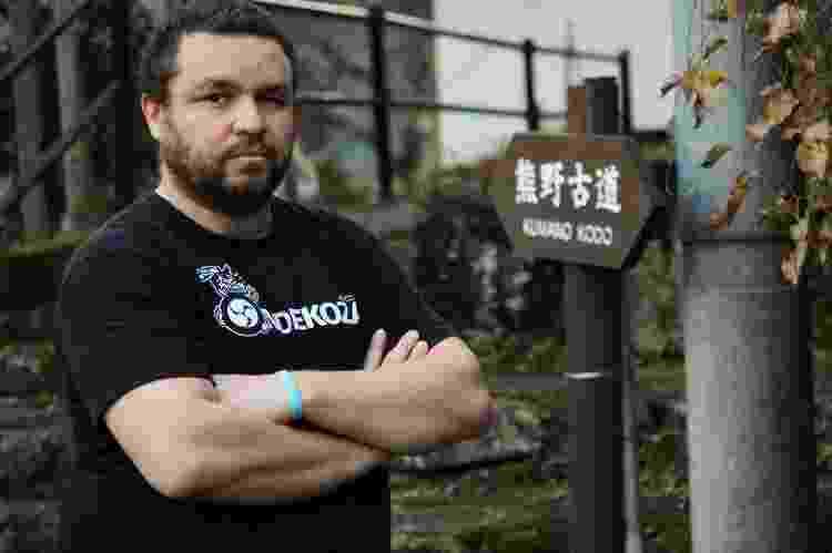 O jornalista Roberto Maxwell é também guia no Japão e especialista em culinária do país - Arquivo pessoal - Arquivo pessoal