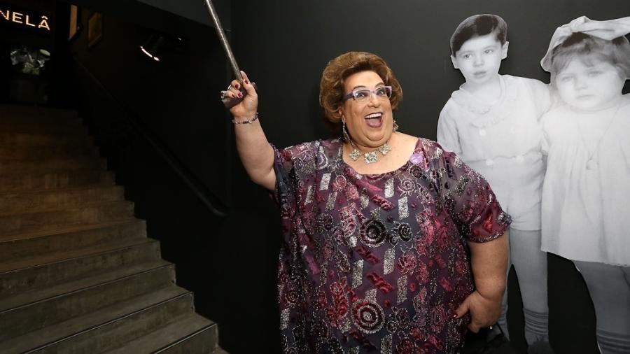 """Mamma Bruschetta na exposição """"Silvio Santos Vem Aí"""", no MIS (Museu da Imagem e do Som), em São Paulo - Cláudio Augusto/Brazil News"""