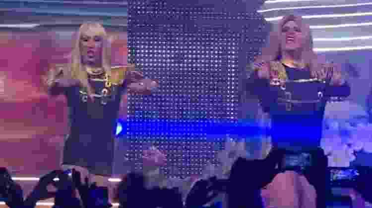"""Paquitas formadas por drags queens cantaram 'Quem Quer Pão"""" no evento """"XuCha"""" - Reprodução/Youtube - Reprodução/Youtube"""