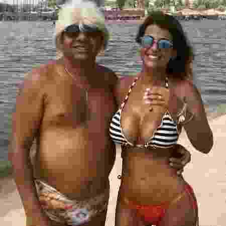 Tiririca e a mulher, Nana Magalhães - Reprodução/Instagram - Reprodução/Instagram
