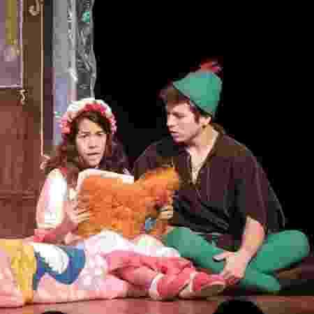 """Marcelo Max na peça """"Peter Pan e a Terra do Nunca"""" - Marcelo Max/Arquivo pessoal - Marcelo Max/Arquivo pessoal"""