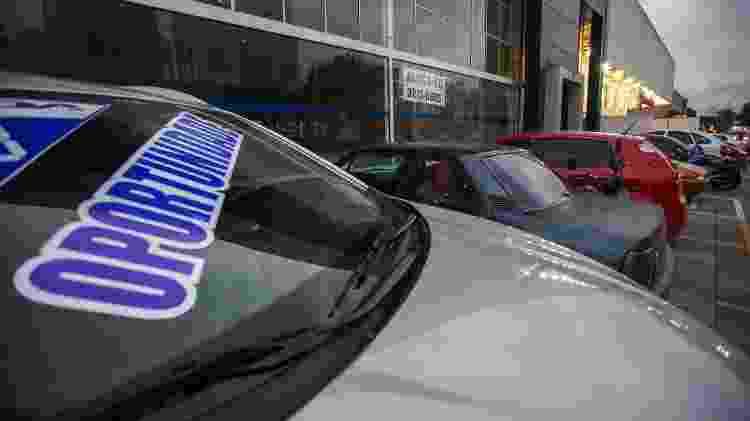 Carro à venda - Marlene Bergamo/Folhapress - Marlene Bergamo/Folhapress