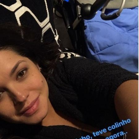 """Com cara de cansada, Thais Fersoza posta foto com Teodoro no carrinho e assume: """"Preguicinha"""" - Reprodução/Instagram/@tatafersoza"""