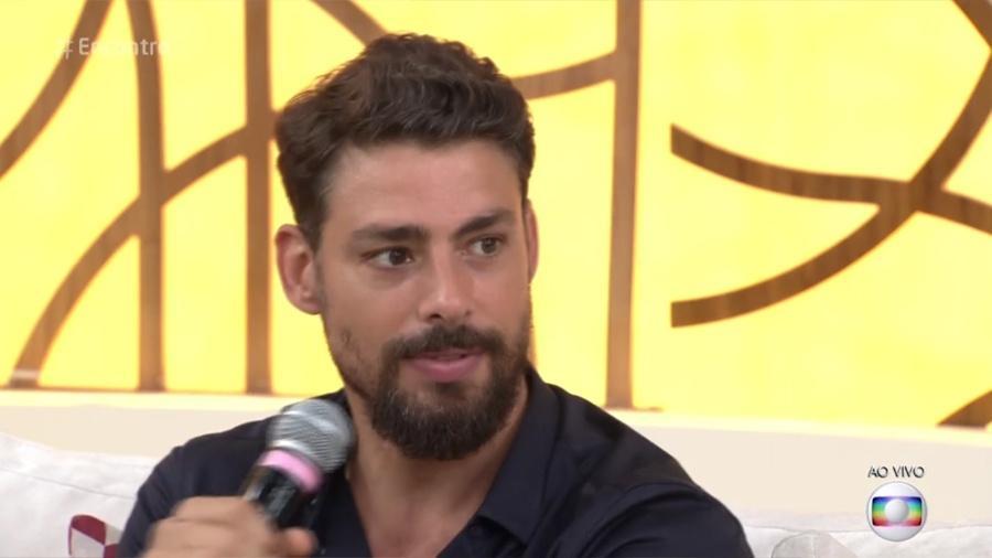 """Cauã Reymond no """"Encontro"""" - Reprodução/Globo"""