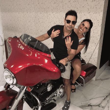 Zezé Di Camargo e Graciele Lacerda - Reprodução/Instagram