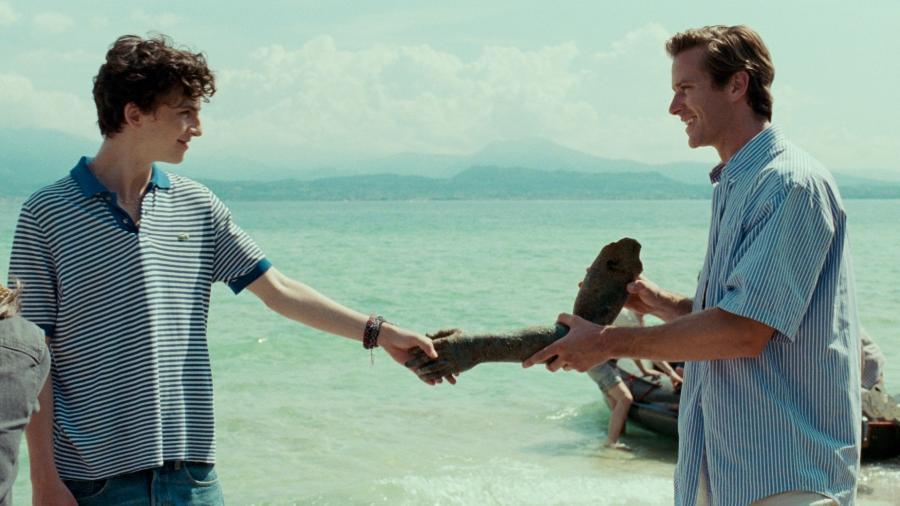"""Timothee Chalamet e Armie Hammer no filme """"Me Chame Pelo Seu Nome"""" - Divulgação"""