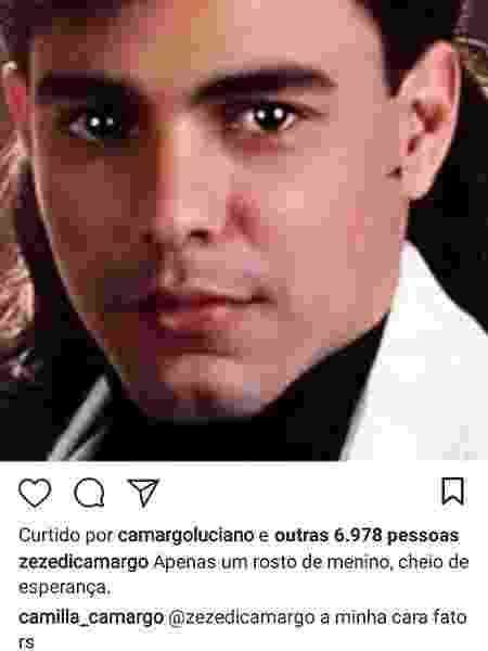Reprodução/Instagram/zezedicamargo