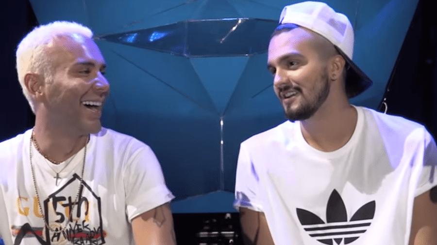 Matheus Mazzafera entrevista Luan Santana - Reprodução/YouTube