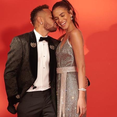 Neymar e Bruna Marquezine - Reprodução/Instagram/neymarjr