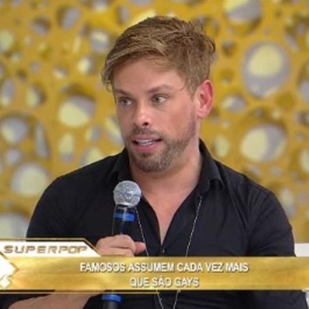 Bruno Chateaubriand no Superpop - Reprodução/RedeTV