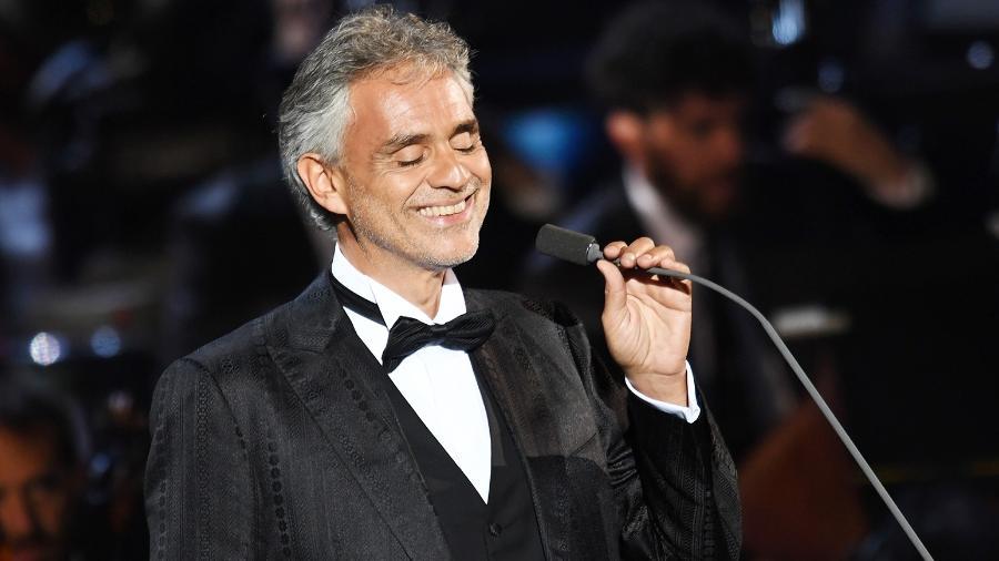 O tenor Andrea Bocelli - Francesco Pirandoni/Getty Images