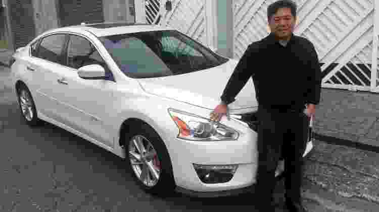 Empresário e engenheiro, Carlos Kato comprou seu Altima em 2016 depois de dois Mercedes Classe C  - Arquivo pessoal
