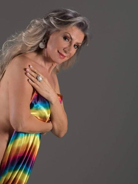 Marilice Carrer tornou-se modelo depois dos 50 - Gal e Aluizio/Divulgação
